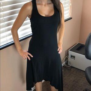 LOVE ON A HANGER Black Sleeveless Dress Size XS